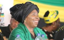 FILE: Nkosazana Dlamini Zuma. Picture: @DlaminiZuma/Twitter.