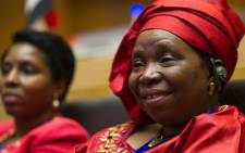 FILE:Chairperson of the African Union Dr Nkosazana Dlamini-Zuma. Picture: GCIS.