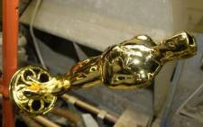 An Oscar statuette in production. Picture: Gallo Images/WireImage
