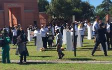 The Sharpeville Garden of Remembrance. Picture: Masego Rahlaga/EWN.