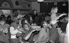 Patrons dancing in the Rainbow Restuarant and Jazz Bar back in the 80s. Picture: therainbow.co.za