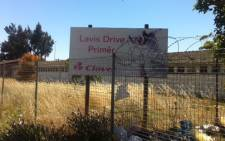 Lavis Drive Primary School is one of 20 schools that will be shutting down. Picture: Nadine Moodie/EWN