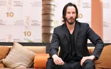 Canadian actor Keanu Reeves poses during a photocall at the 10th edition of the Marrakech International Film Festival on December 4, 2010. Picture: AFP.