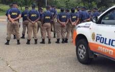 FILE: JMPD officers on parade. Picture: @JMPDSafety/Twitter