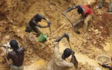 At least 13 people died when an old gold mine they were working in collapsed in eastern Guinea, a local official said on 21 December 2015. Picture: www.mining.com