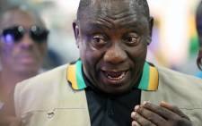 FILE: Deputy President Cyril Ramaphosa during a tour of the business exhibition at the ANC's National General Council in Midrand on 11 October 2015. Picture: Reinart Toerien/EWN