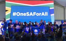 The DA launches its 2019 election campaign in the Western Cape on 29 September 2018. Picture: @Our_DA/Twitter