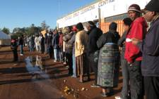 Midvaal residents at the 2011 local government elections. Picture: EWN