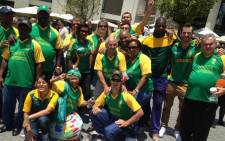 Fans came to say their goodbyes to the team ahead of Cricket World Cup. Picture: Vumani Mkhize/EWN.