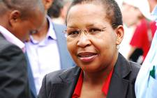 FILE: Former Gauteng MEC for Health Qedani Mahlangu. Picture: EWN