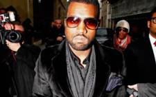 American rapper Kanye West. Picture: AFP