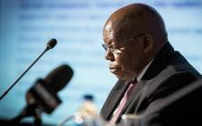 FILE: Eskom board chairperson Ben Ngubane makes notes during a media briefing at the power utility's head office in Johannesburg on 4 November 2016. Picture: Reinart Toerien/EWN