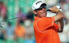 British golfer Lee Westwood. Picture: AFP.