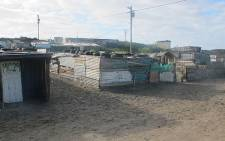 PE municipality blames overcrowding for failing to improve the Silvertown informal settlement. Picture: Chané Fortuin/EWN