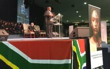 Deputy president Cyril Ramaphosa launched the campaign at the Rhema Bible Church in Randburg. Picture: Hitekani Magwedze/EWN.