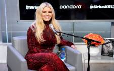 Jessica Simpson visits SiriusXM Studios for SiriusXM's Town Hall with Jessica Simpson hosted by Andy Cohen on 5 February 2020 in New York City. Picture: AFP