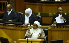 Members of Parliament and the National Council of Provinces Debate the State of the Nation Address delivered by President Cyril Ramaphosa on 7 February 2019 at a joint sitting of Parliament in the National Assembly. Picture: GovernmentZA/Twitter