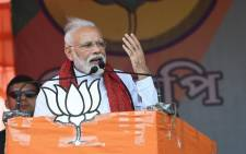 India's Prime Minister Narendra Modi. Picture: @narendramodi/Twitter.