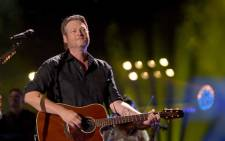 Blake Shelton performs onstage during the 2018 CMA Music festival at Nissan Stadium on 8 June 2018 in Nashville, Tennessee.Picture: AFP