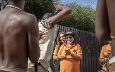 Good party leader Patricia de Lille campaigned in Soweto on Vilakazi Street on 25 April 2019. Picture: Thomas Holder/EWN