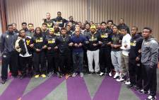 University of Missouri football players join anti-racism protests & refuse to play until Univeristy President Tim Wolfe steps down. Picture: @MyPWI/Twitter