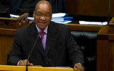 FILE: President Jacob Zuma in parliament. Picture: GCIS