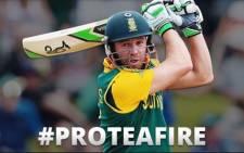 Proteas captain AB de Villiers captain.