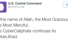 The US Central Command Team's Twitter feed was hacked on 12 January, 2015. Picture: Twitter.