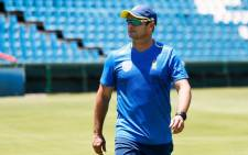 FILE: South Africa's cricket team head coach Mark Boucher looks on during a team training session at the Supersport Park Cricket Stadium in Centurion, on 20 December 2019. Picture: AFP.