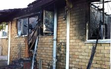 9 people died in a house fire in Macassar, near Somerset West on 23 March 2011. Picture: Eyewitness News