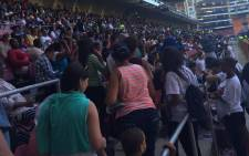 Youth Transform Africa gathered at the Newlands Stadium to pray for peace in South Africa as part of Freedom Day celebrations. Picture: Masa Kekana/EWN