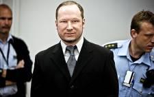 Anders Breivik. Picture: AFP
