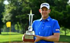 Joachim B. Hansen won the Joburg Open on 22 November 2020 by three strokes with nine holes remaining. Picture: @EuropeanTour/Twitter