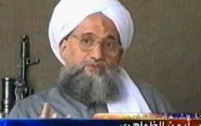 A video grab taken 06 July 2006 from the pan-Arab satellite television network al-Jazeera shows al-Qaeda second-in-command Ayman al-Zawahri.AFP