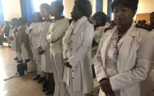 FILE: Nurses at Rahima Moosa Mother and Child Hospital attend a pledging service on 13 August 2018. Picture: EWN