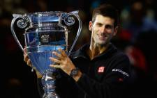Novak Djokovic ensured he would end the year at number 1 with a win over Tomas Berdych in quarterfinals of the ATP World Tour Finals in London on 14 November 2014. Picture: Official Novak Djokovic Twitter: @DjokerNole