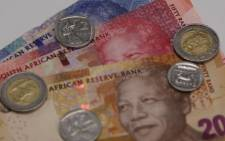 FILE: South African rand.  Picture: Christa Eybers/EWN
