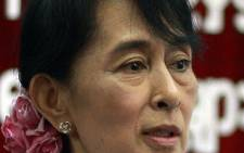 Aung San Suu Kyi. Picture: AFP.