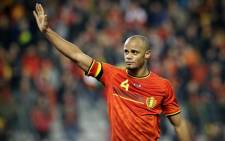 Belgian captain Vincent Kompany is nursing a minor groin injury. Picture: Facebook.com