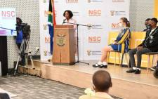 Basic Education Minister Angie Motshekga announced the results of the 2020 national senior certificate examination results on 22 February 2021. Picture: GCIS.