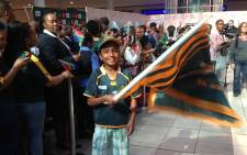 FILE: Unlike last week not many are wearing their green and gold Boks jerseys. Picture: Vumani Mkhize/EWN.