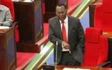 Tanzania Chadema party chairman Freeman Mbowe. Picture: @freemanmbowetz/Twitter.