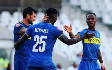 Siphelele Mthembu scored Cape Town City's second goal in their 2-1 win over Polokwane City on Tuesday night. Picture: Twitter/@CapeTownCityFC