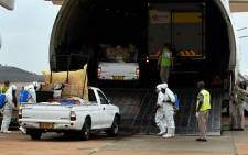 FILE: Remains of the 74 South Africans who were killed in a Nigeria building collapse were repatriated in an emotional ceremony at Waterkloof Air Force Base, Pretoria. Picture: GCIS