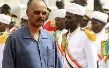 FILE: Eritrean president Isaias Afwerki. Picture: AFP
