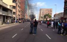 FILE: A standoff erupted between foreign shop owners and locals in Durban on 14 April 2015. Picture: Vumani Mkhize/EWN.