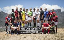 The Cape Town Sevens pose for a picture on Signal Hill. Picture: Thomas Holder/EWN.