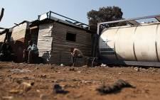 FILE: Jupiter informal settlement. Picture: EWN