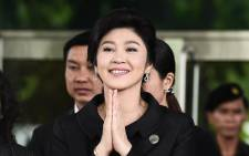 FILE: Former Thai Prime Minister Yingluck Shinawatra. Picture: AFP