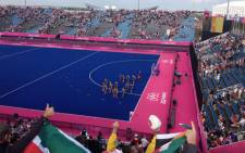 FILE: The South African men's hockey team in action at the London Olympics. Picture: Marc Lewis/EWN